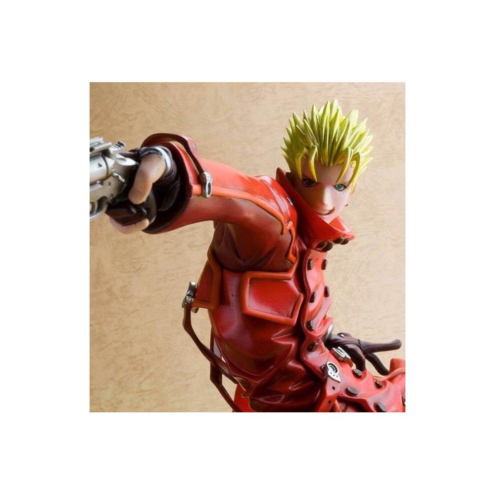 Trigun Badlands Rumble  - Figurine Vash The Stampede Renewal ARTFX