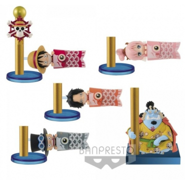 One Piece - Pack Figurines WCF Carp Streamer
