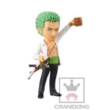 One Piece - Figurine Roronoa Zoro WCF Dressrosa Vol.4
