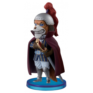 One piece - Figurine Docstorm WCF Collection Zou