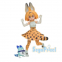 Kemono Friends - Figurine Serval & Lucky Beast PM