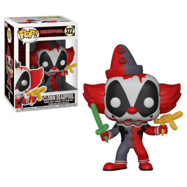 Deadpool - Figurine POP Clown Deadpool