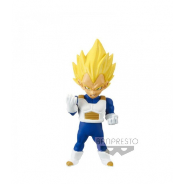Dragon Ball Z - Figurine Vegeta Super Saiyan WCF Mistery Blind Box Series 2 Cell Saga