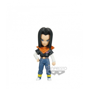 Dragon Ball Z - Figurine Android 17 WCF Mistery Blind Box Series 2 Cell Saga