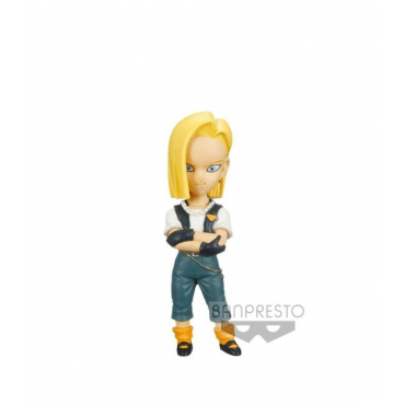 Dragon Ball Z - Figurine Android 18 WCF Mistery Blind Box Series 2 Cell Saga