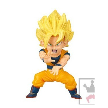 Dragon Ball Z - Figurine Goku Super Saiyan WCF Mystery Blind Box Series 4
