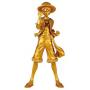 One Piece - Figurine Monkey D Luffy Jump 50TH Anniversaire Gold Version