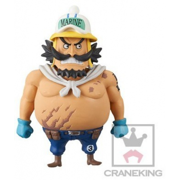 One Piece Gold - Figurine Straight Sergeant WCF 15 Vol.3
