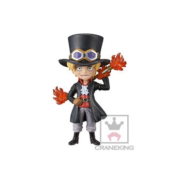 One Piece - Figurine Sabo Gold WCF