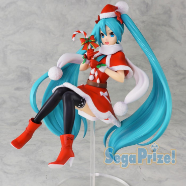 Vocaloid - Figurine Hatsune Miku Christmas 2018