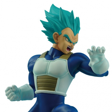 Dragon Ball Super - Figurine Vegeta Super Saiyan Blue In Flight
