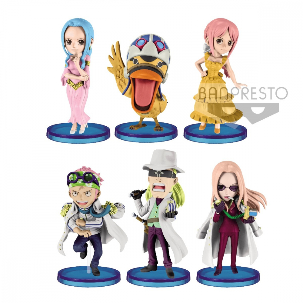 One Piece - Pack Figurines Levely Asst WCF
