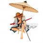 One Piece - Figurine Monkey D Luffy Banpresto World Figure Collection