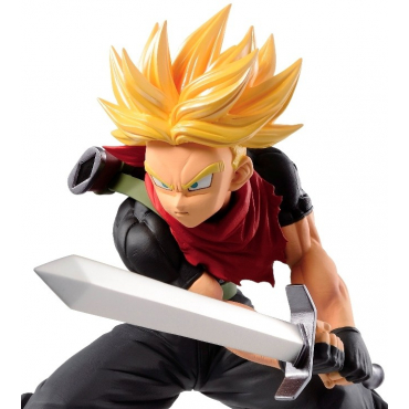 Super Dragon Ball Heroes - Figurine Trunks Super Saiyan Transcendence Art Vol.5