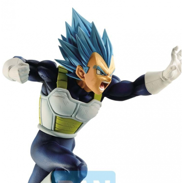 Dragon Ball Super - Figurine Vegeta Super Saiyan God Z Battle