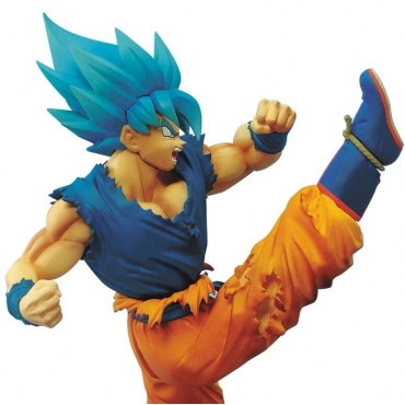 Dragon Ball Super - Figurine Goku SSJ God Z Battle
